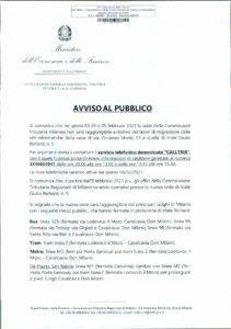 CTR LOMBARDIA - NUOVA SEDE DI VIALE GIULIO RICHARD